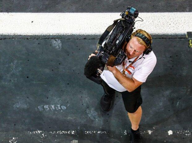 Formel-1-Kameramann
