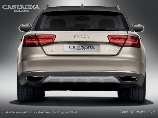 Audi A8 Avant Allroad W12 von Castagna Milano