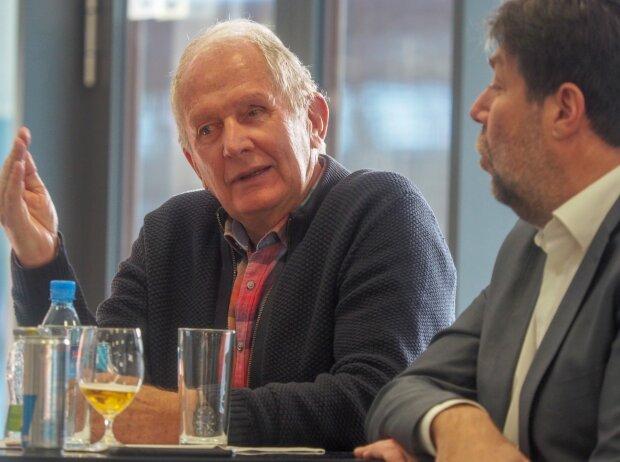 Helmut Marko und Peter Schöggl