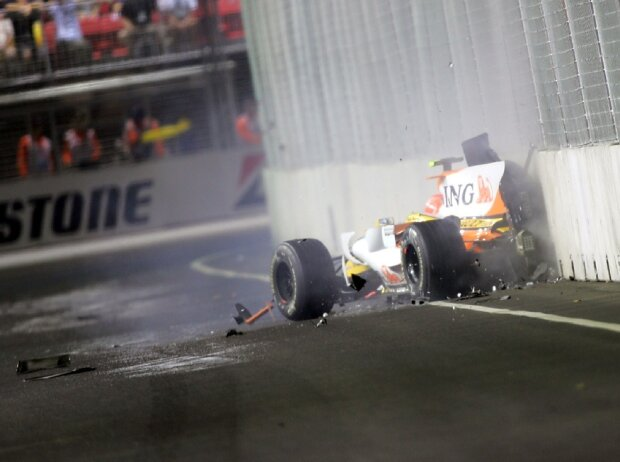 Nelson Piquet Jun., Singapur 2008, Crashgate