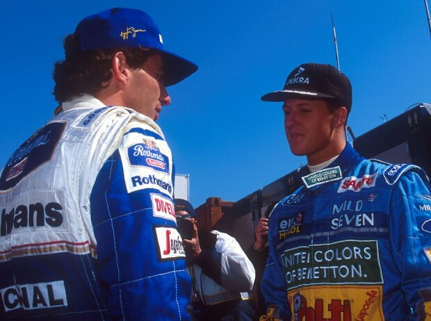 Michael Schumacher, Ayrton Senna