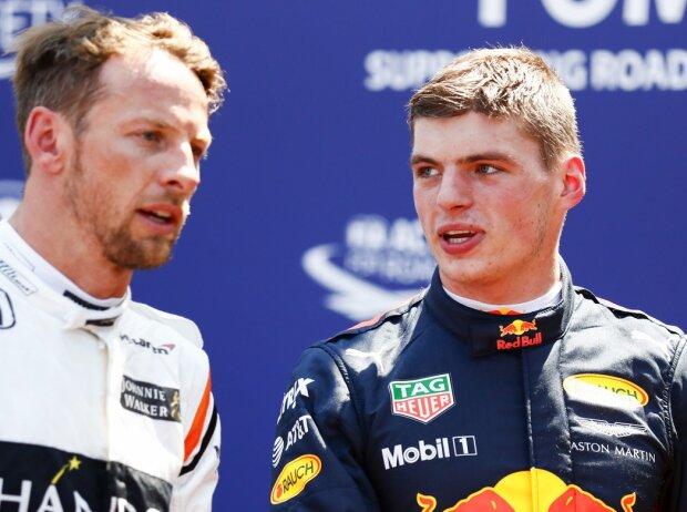 Jenson Button, Max Verstappen