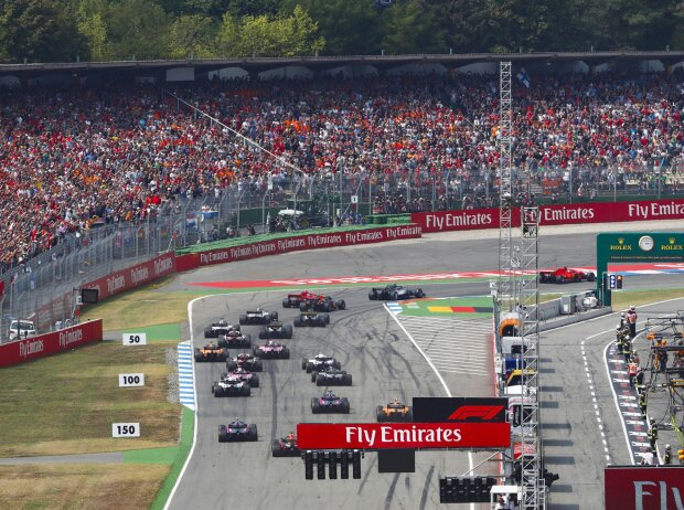 Sebastian Vettel, Valtteri Bottas, Kimi Räikkönen, Max Verstappen