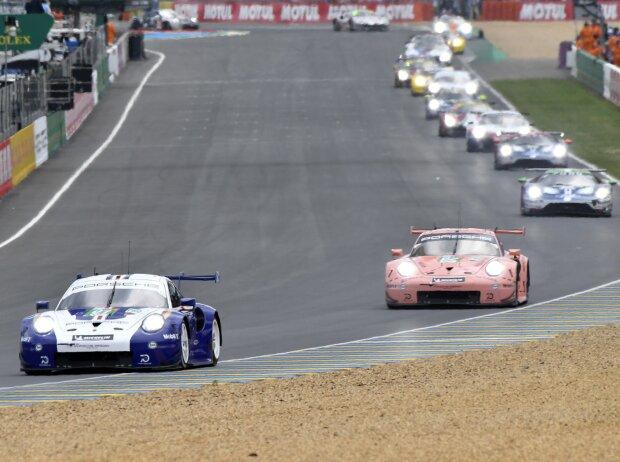 Feld der GTE-Pro-Klasse bei den 24h Le Mans 2018
