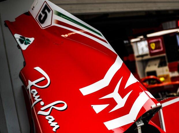 Ferrari-Motorhaube