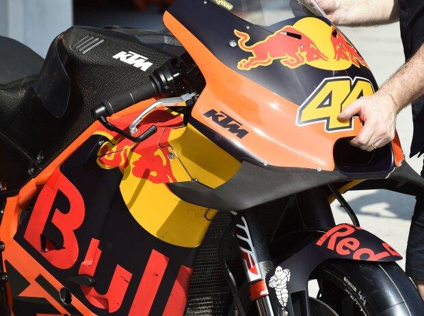 KTM RC16: Verkleidung mit Winglet