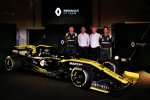 Nico Hülkenberg, Cyril Abiteboul, Jerome Stoll und Daniel Ricciardo