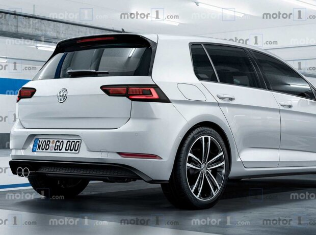 vw golf viii 2019 renderings so k nnte der neue golf 8. Black Bedroom Furniture Sets. Home Design Ideas
