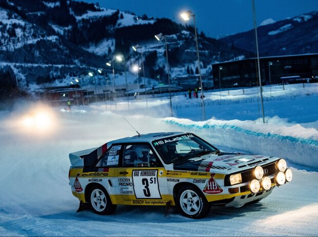 Audi S1 beim GP Ice Race in Österreich