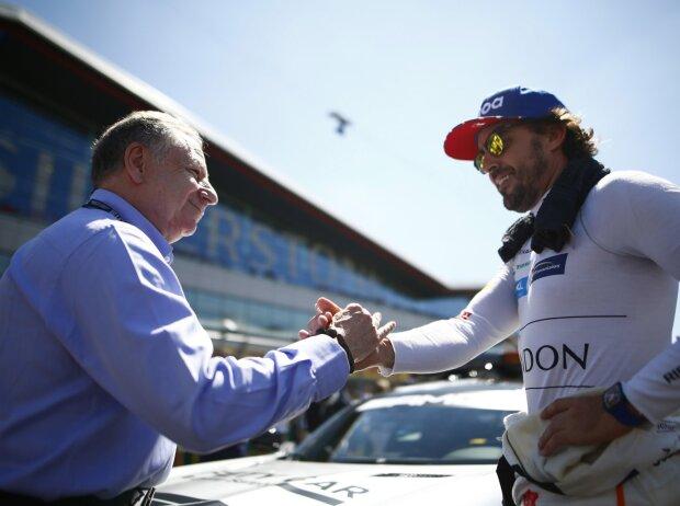 Jean Todt, Fernando Alonso