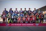 Das MotoGP-Klassenfoto 2019