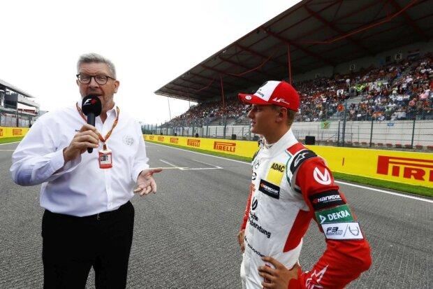 Mick Schumacher Ross Brawn  ~Mick Schumacher und Ross Brawn ~