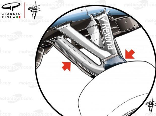Williams FW42, Aufhängung