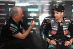 Ramon Forcada und Franco Morbidelli (Petronas Yamaha)