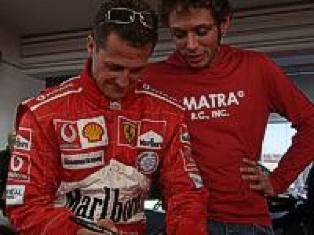 Schumacher und Rossi