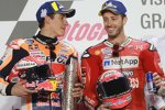 Marc Marquez (Honda) und Andrea Dovizioso (Ducati)