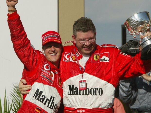Michael Schumacher, Ross Brawn