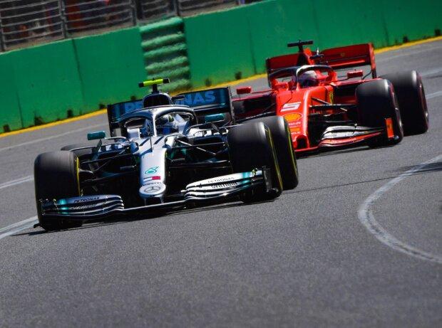 Valtteri Bottas, Sebastian Vettel
