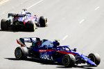 Alexander Albon (Toro Rosso) und Daniil Kwjat (Toro Rosso)