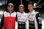 Polesitter: Sebastien Buemi, Fernando Alonso und Kazuki Nakajima