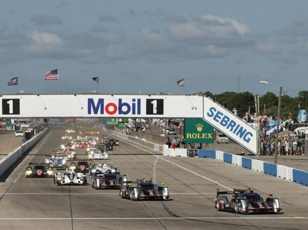 Beginn der WEC-Ära: 12h Sebring 2012