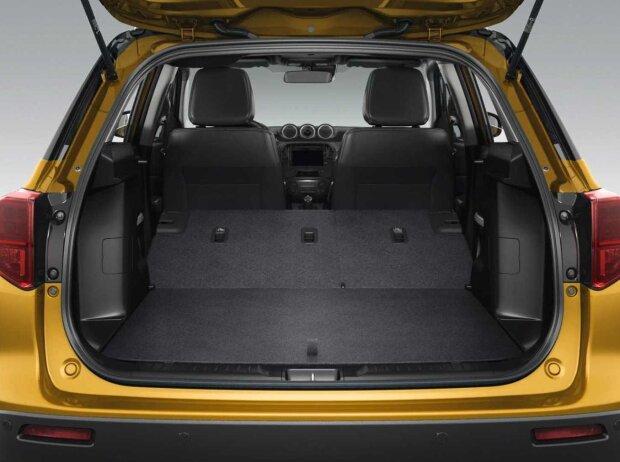 Kofferraum des Suzuki Vitara Facelift (2019)