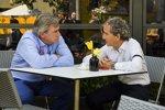 Carlos Sainz sen. und Alain Prost
