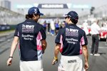 Sergio Perez (Racing Point) und Lance Stroll (Racing Point)