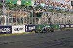 Michael Rossi und Valtteri Bottas (Mercedes)