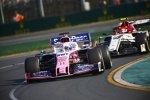 Sergio Perez (Racing Point) und Antonio Giovinazzi (Alfa Romeo)