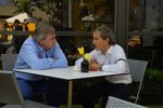 Carlos Sainz (McLaren) und Alain Prost