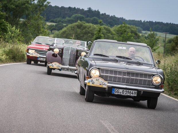 Opel bei der 23. ADAC-Oldtimerfahrt Hessen-Thüringen