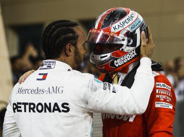Lewis Hamilton, Charles Leclerc