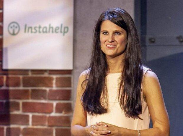 Bernadette Frech, Geschäftsführerin von Instahelp