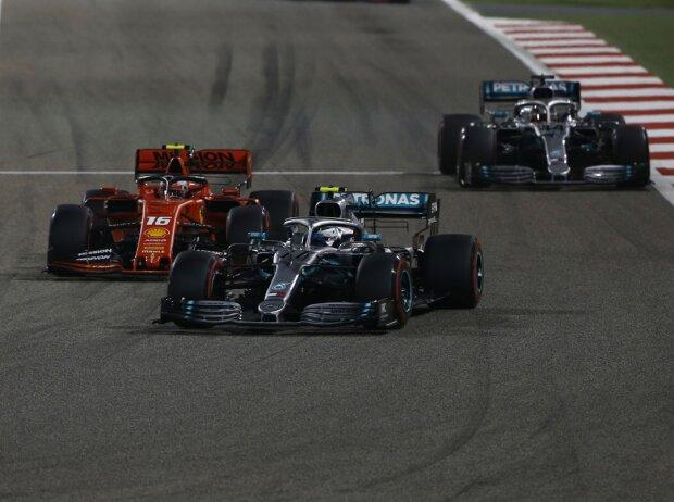 Valtteri Bottas, Charles Leclerc, Lewis Hamilton