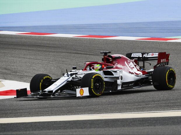 Mick Schumacher, Alfa Romeo C38