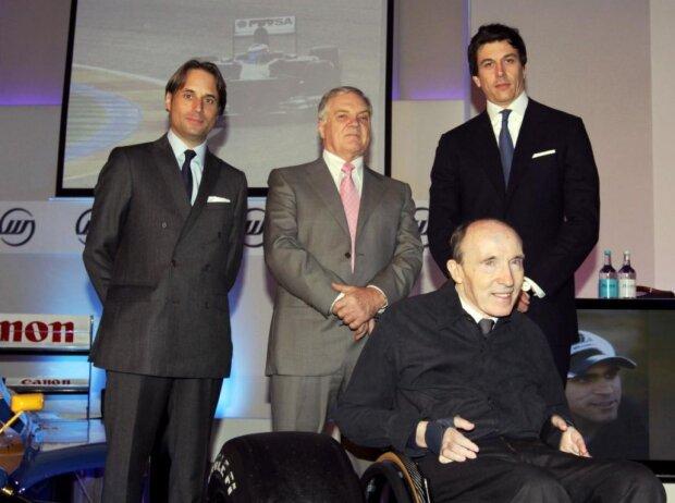 Frank Williams, Patrick Head, Toto Wolff