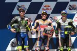 Valentino Rossi, Marc Marquez und Cal Crutchlow