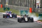 Kevin Magnussen (Haas) und Alexander Albon (Toro Rosso)