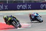 Valentino Rossi vor Alex Rins