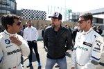 Bruno Spengler (RMG-BMW) und Marco Wittmann (RMG-BMW)