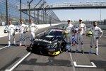 Marco Wittmann (BMW-RMG), Sheldon van der Linde (BMW-RMG), Bruno Spengler (BMW-RBM), Joel Eriksson (BMW-RBM), Timo Glock (BMW-RMG), Philipp Eng (BMW-RBM)