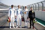 Jake Dennis (R-Motorsport Aston Martin), Ferdinand Habsburg (R-Motorsport Aston Martin) und Jonathan Aberdein (WRT )