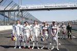 Paul di Resta (R-Motorsport Aston Martin), Bruno Spengler (RMG-BMW), Marco Wittmann (RMG-BMW) und Mike Rockenfeller (Phoenix-Audi)