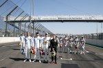 Ferdinand Habsburg (R-Motorsport Aston Martin), Jake Dennis (R-Motorsport Aston Martin) und Jonathan Aberdein (WRT )