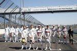 Timo Glock (RMG-BMW), Marco Wittmann (RMG-BMW) und Mike Rockenfeller (Phoenix-Audi)