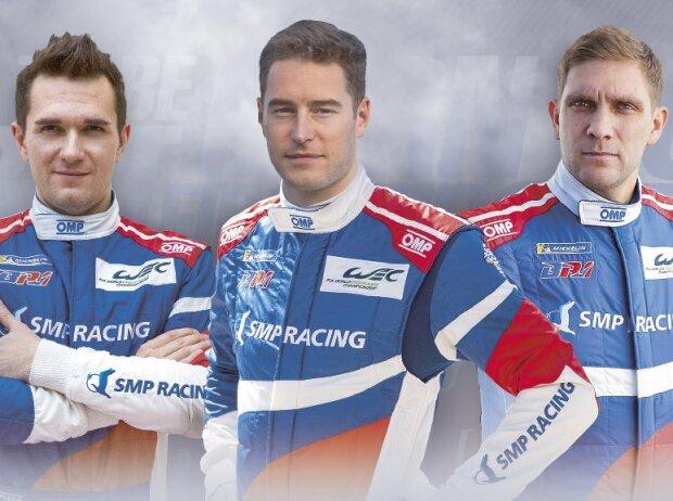 Michail Aljoschin, Stoffel Vandoorne, Witali Petrow