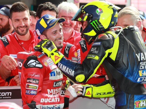 """Andrea Dovizioso, Valentino Rossi"""" title = """"Andrea Dovizioso, Valentino Rossi"""