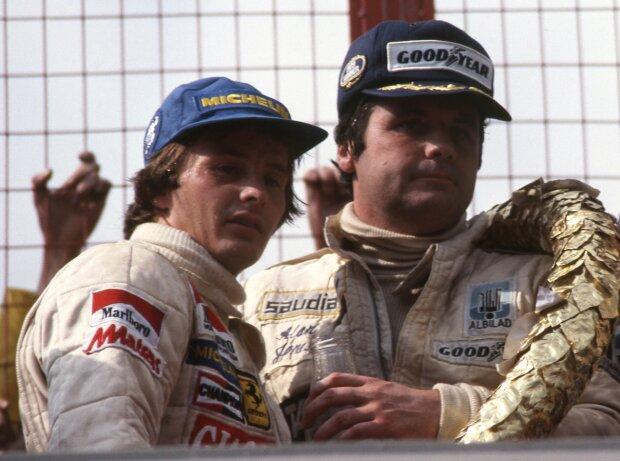 Gilles Villeneuve, Alan Jones