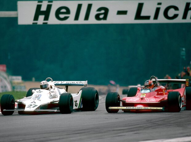Alan Jones, Gilles Villeneuve